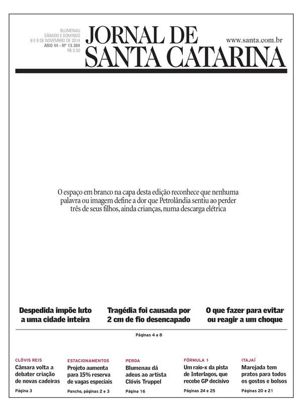 Jornal-de-Santa-Catarina-Primeira-Página
