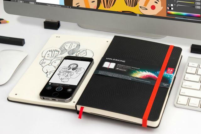 The company now sells iPhone and iPad cases alongside its perfect-bound journals and sketchpads